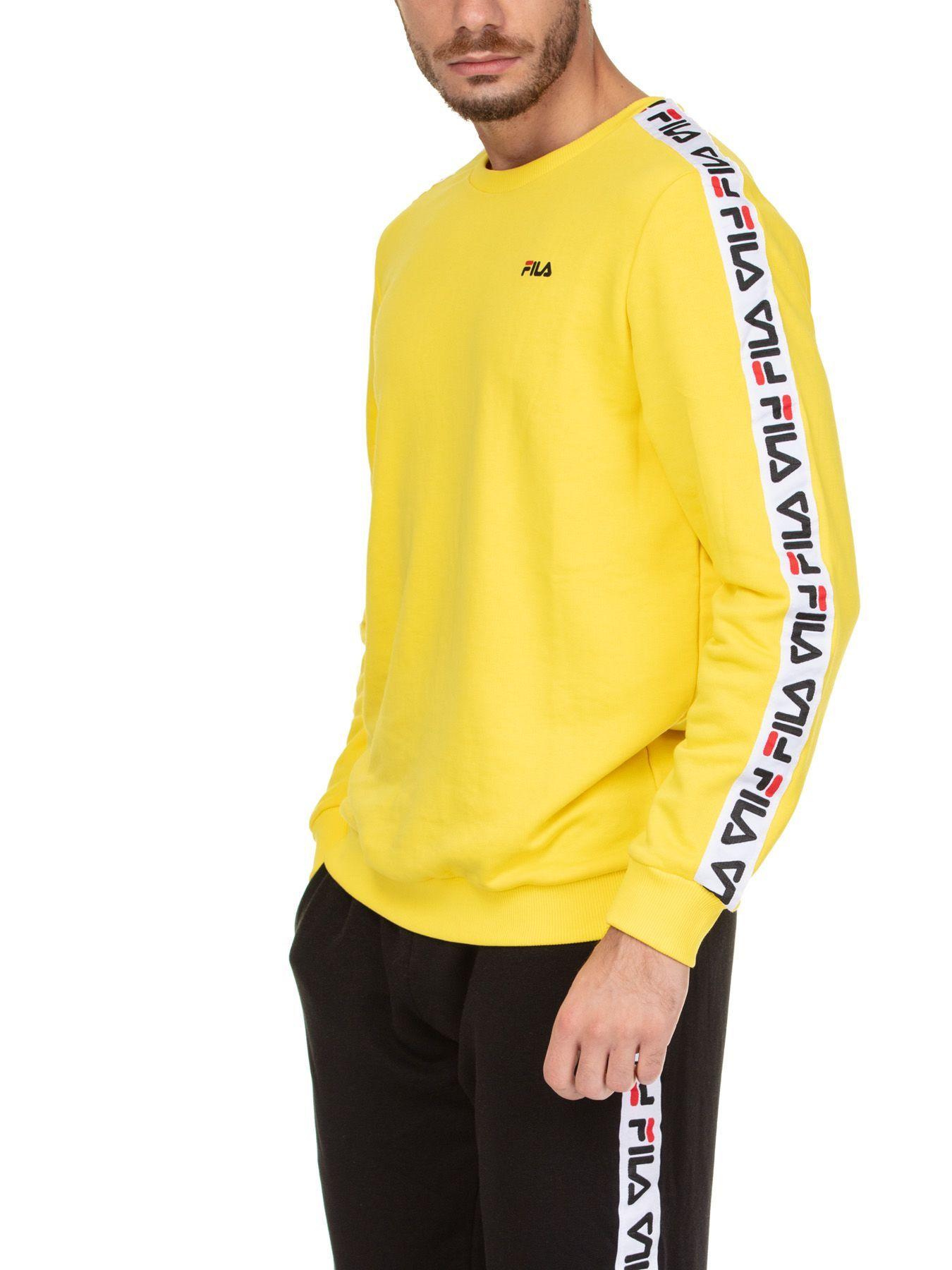 5306915744eb FILA AREN CREW. #fila #cloth | Fila in 2019 | Mens fashion suits ...