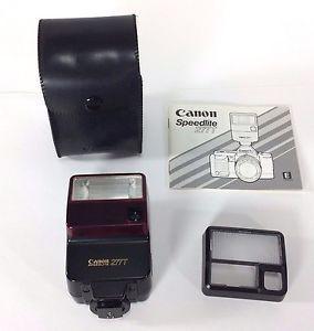 canon speedlite 277t flash shoe mount case diffuser manual tested rh pinterest com Canon Speedlite 550EX Canon Speedlite 188A