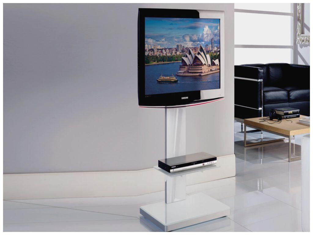 beau meuble tv qui cache les fils