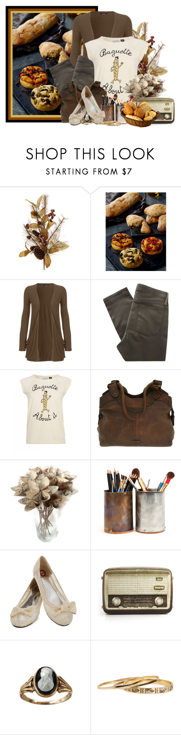 """""""Baguette"""" by lilarose111 ❤ liked on Polyvore featuring WearAll, Helmut Lang, Frye, Kubedesign, Cameo and DailyLook"""