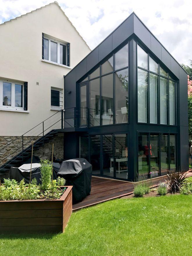Extension maison  3 projets de 25 à 210 m2 en plus Extensions - plan d une maison simple