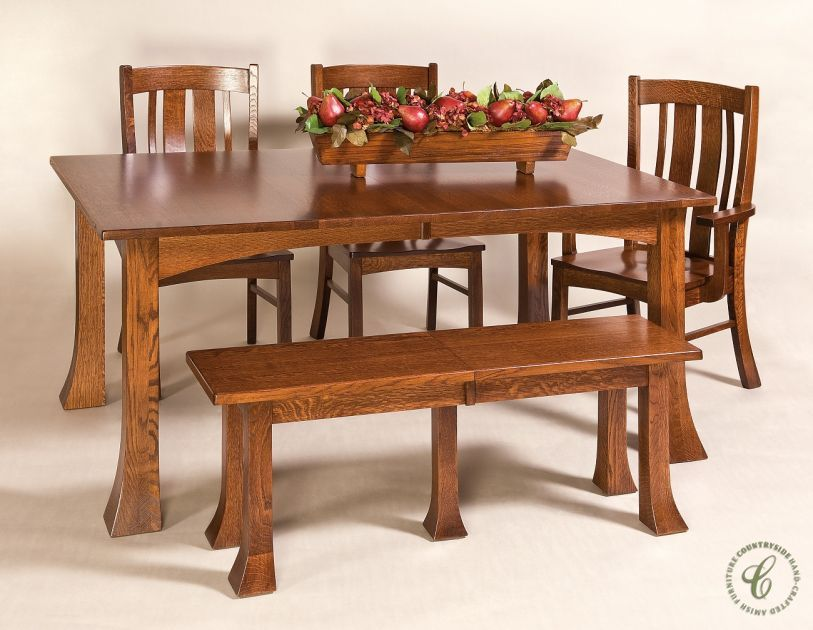 Our Cross Timbers Dining Table And Chairs Set Is Handmade In The Fair Handmade Dining Room Chairs Review
