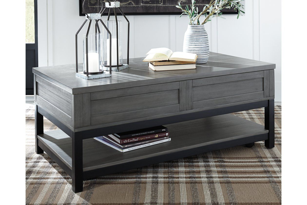 Caitbrook Coffee Table With Lift Top Ashley Furniture Homestore In 2021 Coffee Table Lift Top Coffee Table Ashley Furniture [ 840 x 1260 Pixel ]