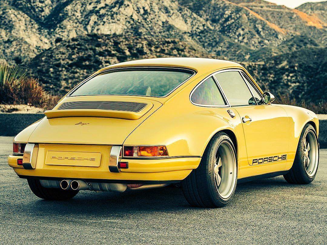 Porsche 911, by Singer...