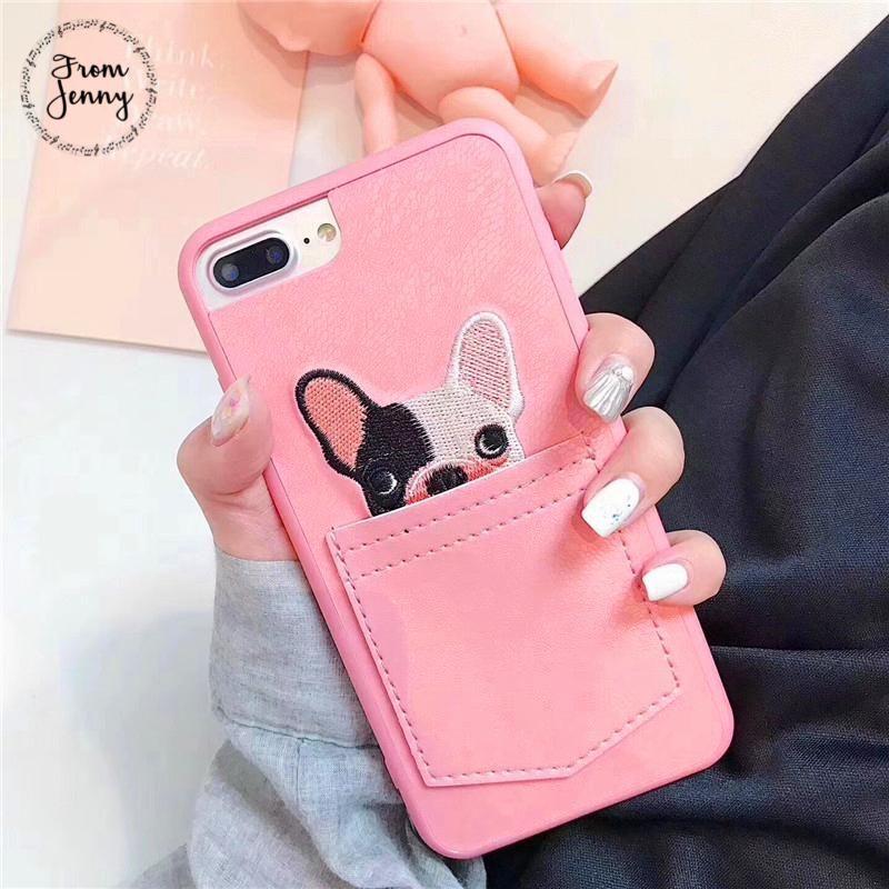 Dog ears animal iphone cute phone cases cute phone cases
