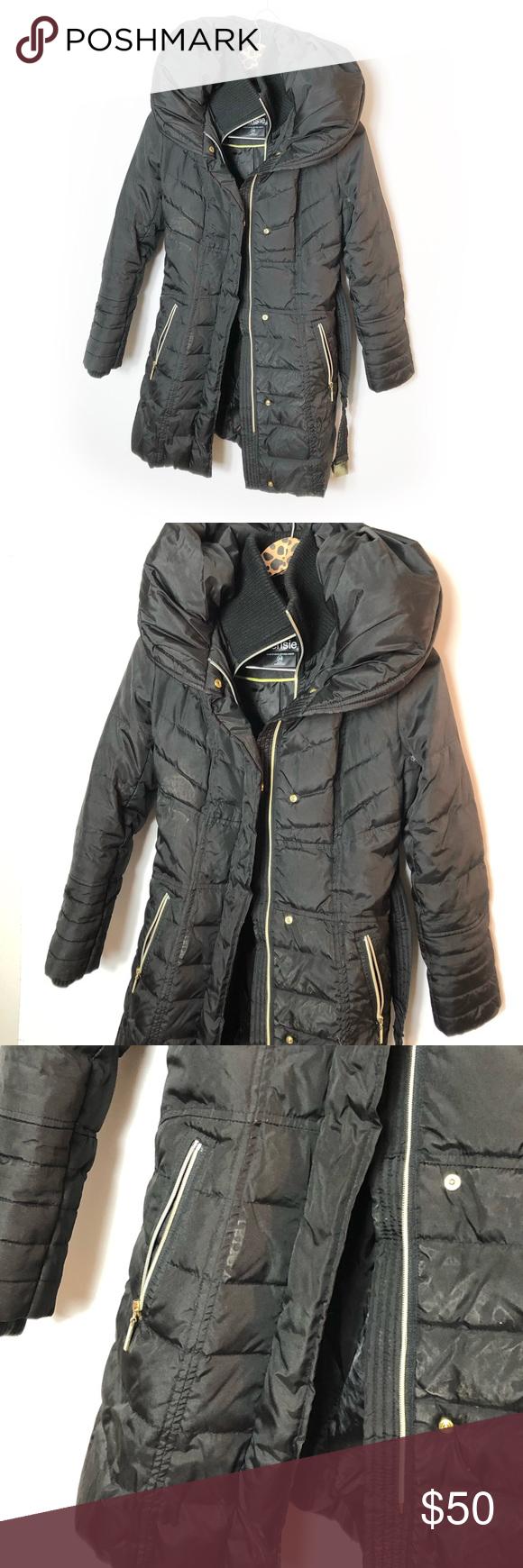 Kenzie belted puffer coat XS