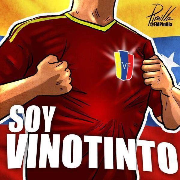 #SomosVinotinto Voy a ti mi Venezuela @lavinotinto