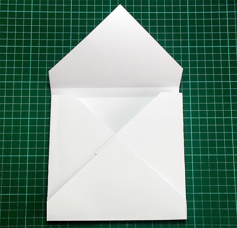 Tutorial for box envelope square cards 6x6 and 5x5 using score board
