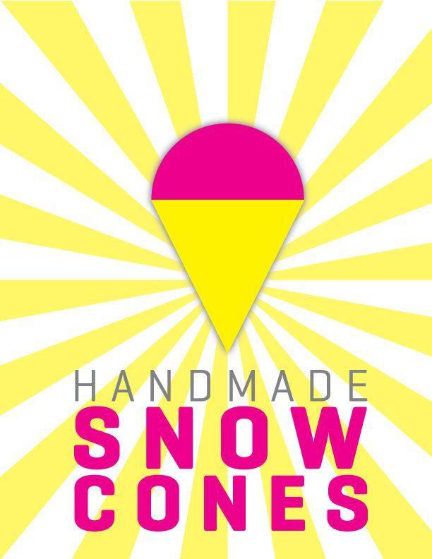 Snow Cone Stand Free Printables Snow Cones Snow Cone Stand