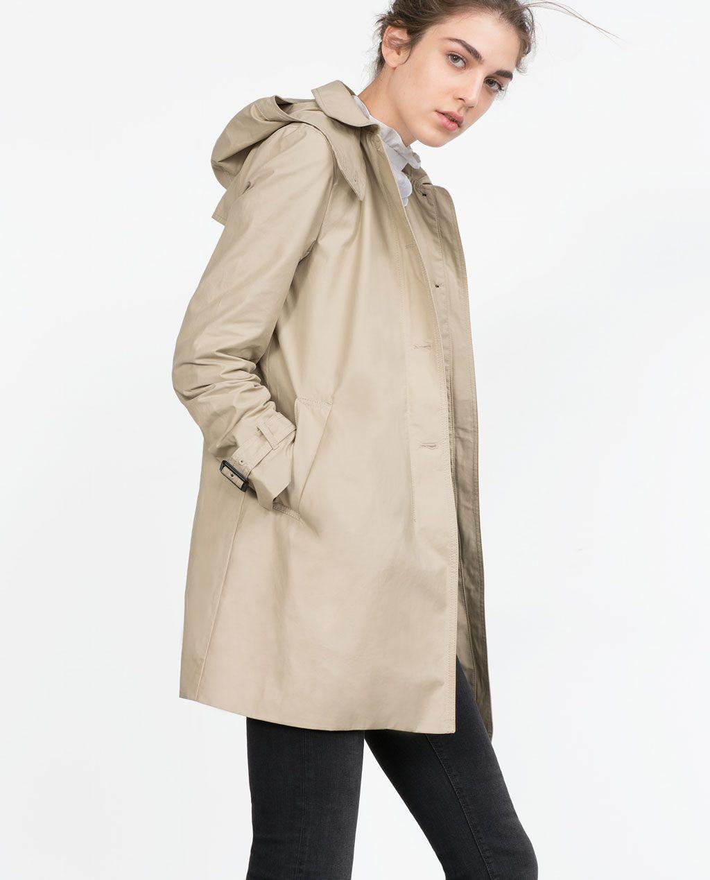 Imagen 2 de GABARDINA WATER REPELLENT de Zara | Coat, Coats
