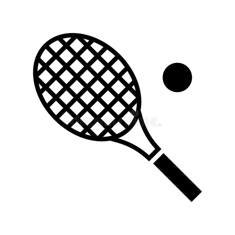 Tennis Racket Vector Summer Holiday Related Solid Icon Tennis Racket Vector S Sponsored Vector Summer Tennis Racket Tennis Racket Rackets Tennis