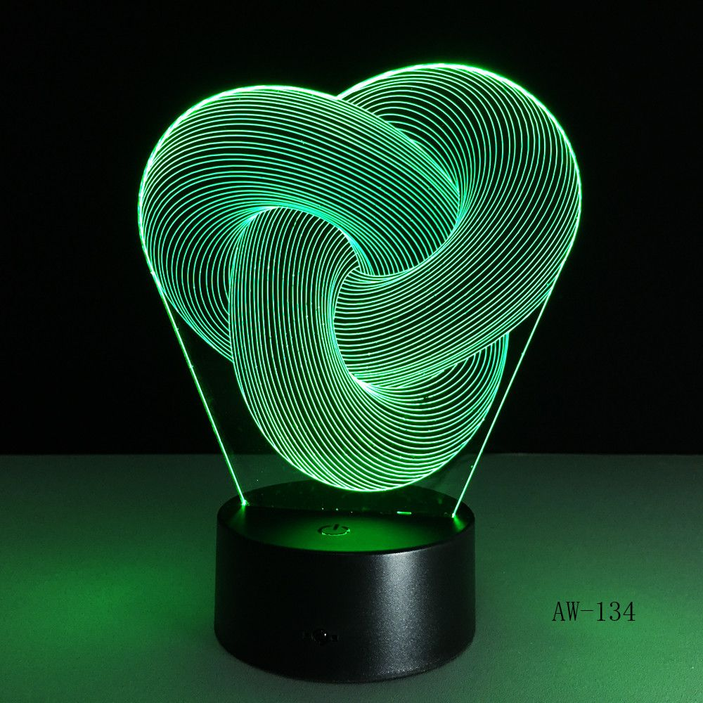 Cheap Night Lights Buy Directly From China Suppliers New Art Abstraction 3d Lamp 7 Color Led Night Lamps For Kid Led Night Lamp 3d Night Light Led Night Light
