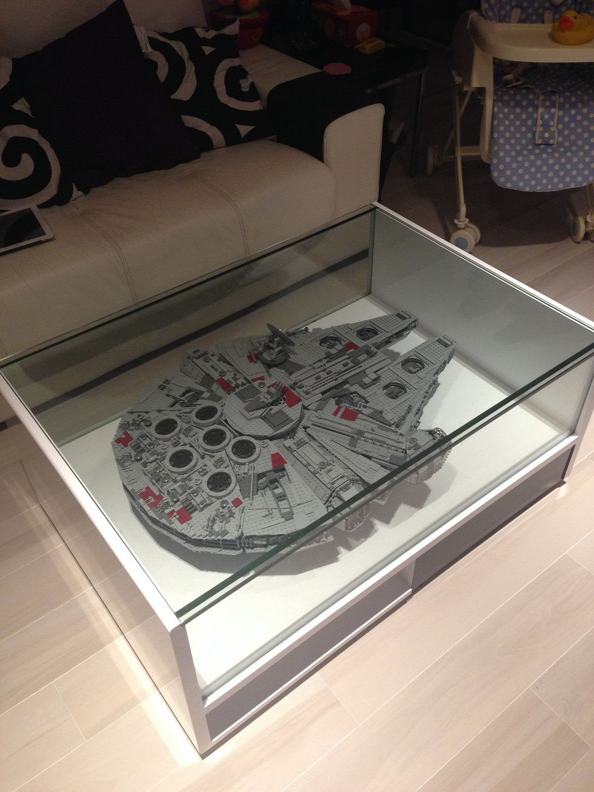 Ikea Granas Coffee Table Become Awesome Display Case Lego Display Case Display Coffee Table Display Case [ 850 x 1089 Pixel ]