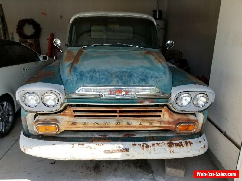 Car For Sale 1959 Chevrolet Other Pickups 3100