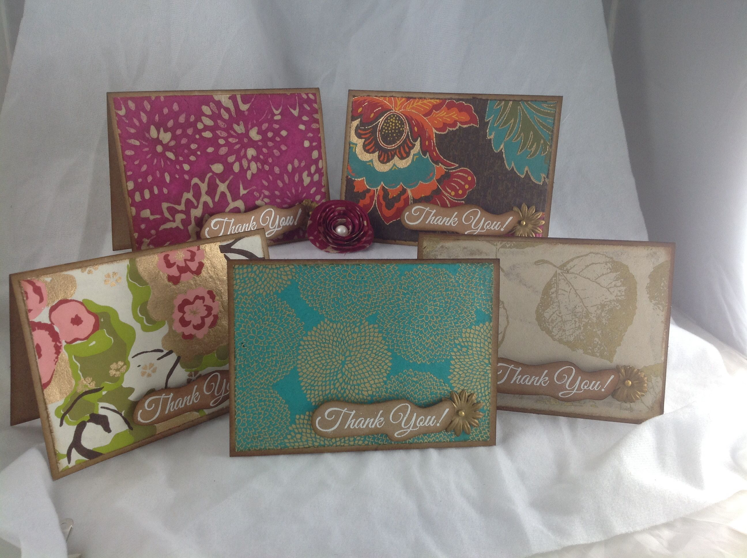 handmade simple thank you cards  my handmade projects
