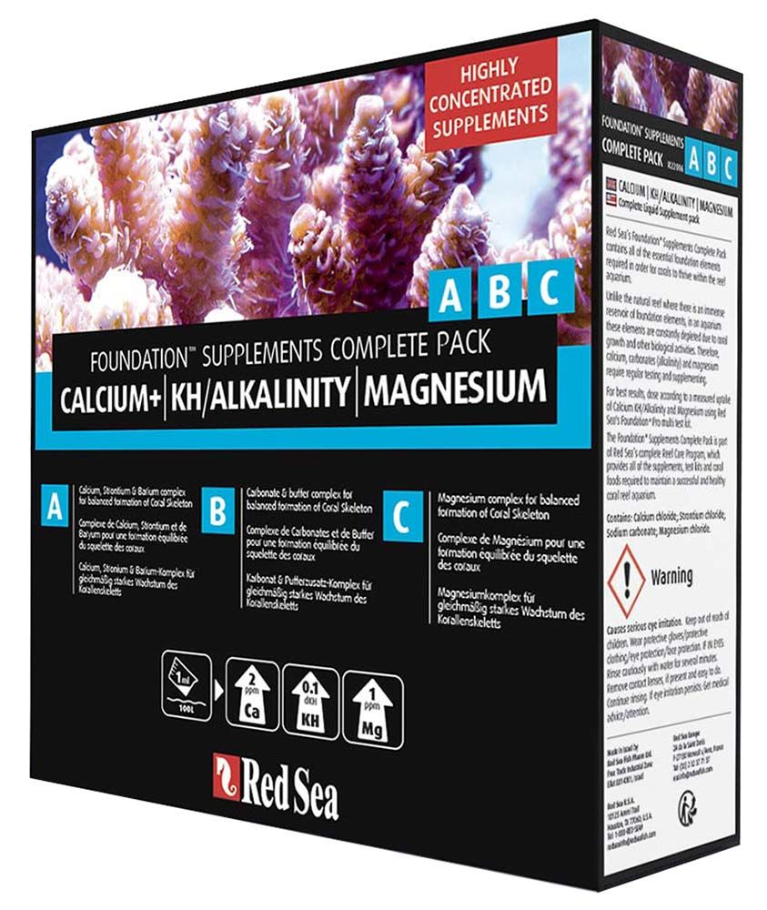 Red Sea Reef Foundation ABC 3Pack (3 x 250ml) Coral