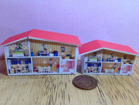 Dolls house miniature replica lundby look dolls dolls house  for your nursery 1/12 or 1/16 scale