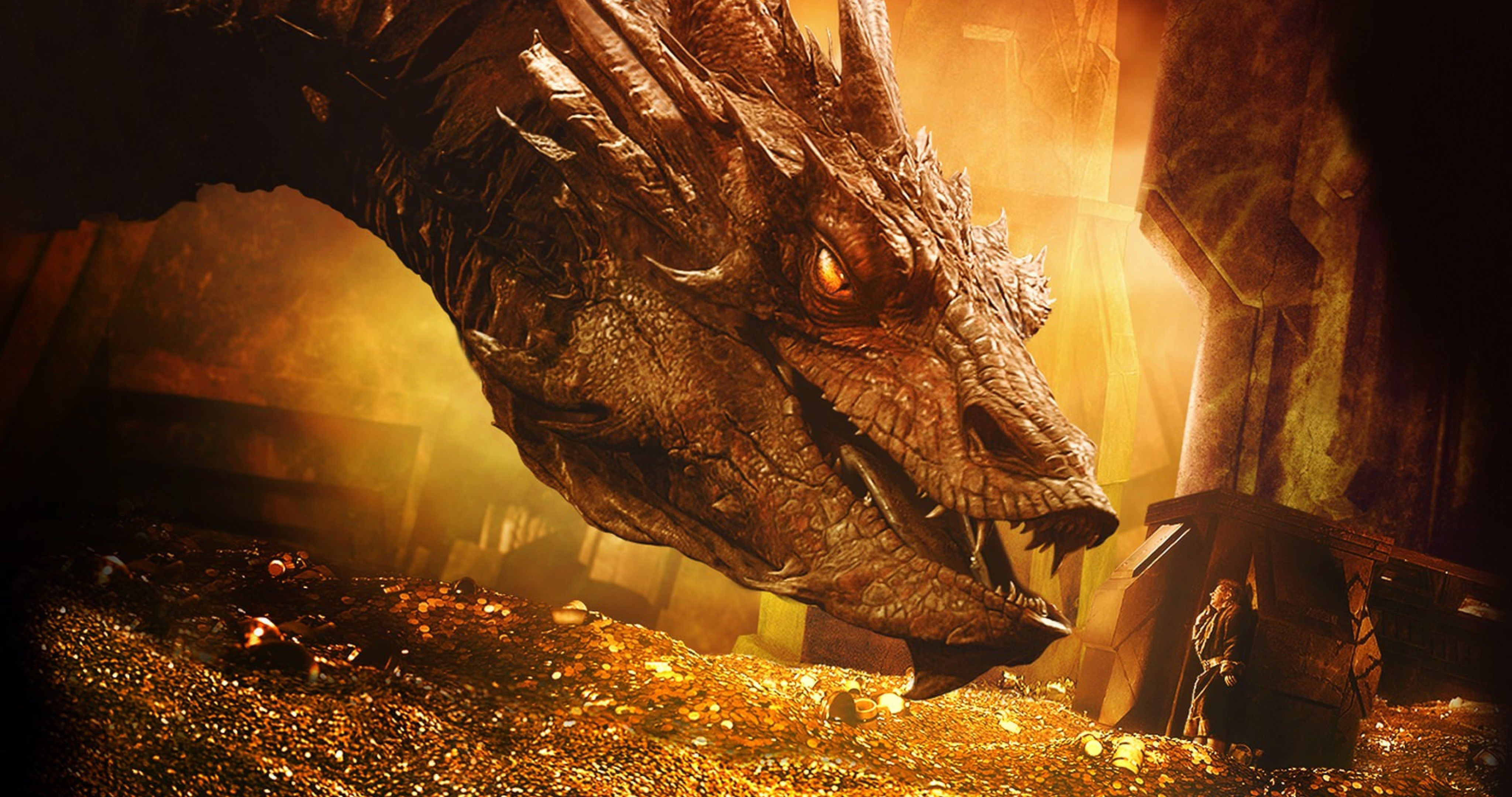 dragin in the hobbit the desolation of smaug 4k ultra hd