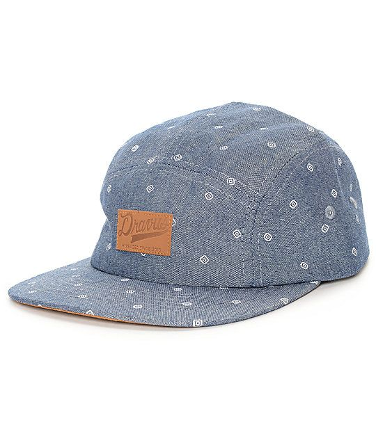 8cd1f6123 Get the classic 5 panel silhouette with the added style of chambrey ...