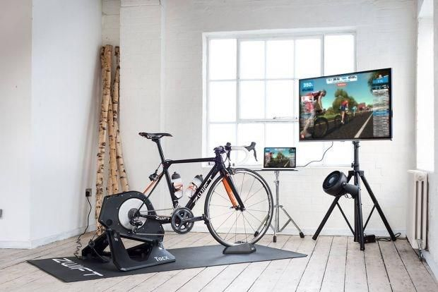 Zwift Made Indoor Cycling Fun And Now They Re Targeting Treadmills Bike Room Indoor Cycling Indoor