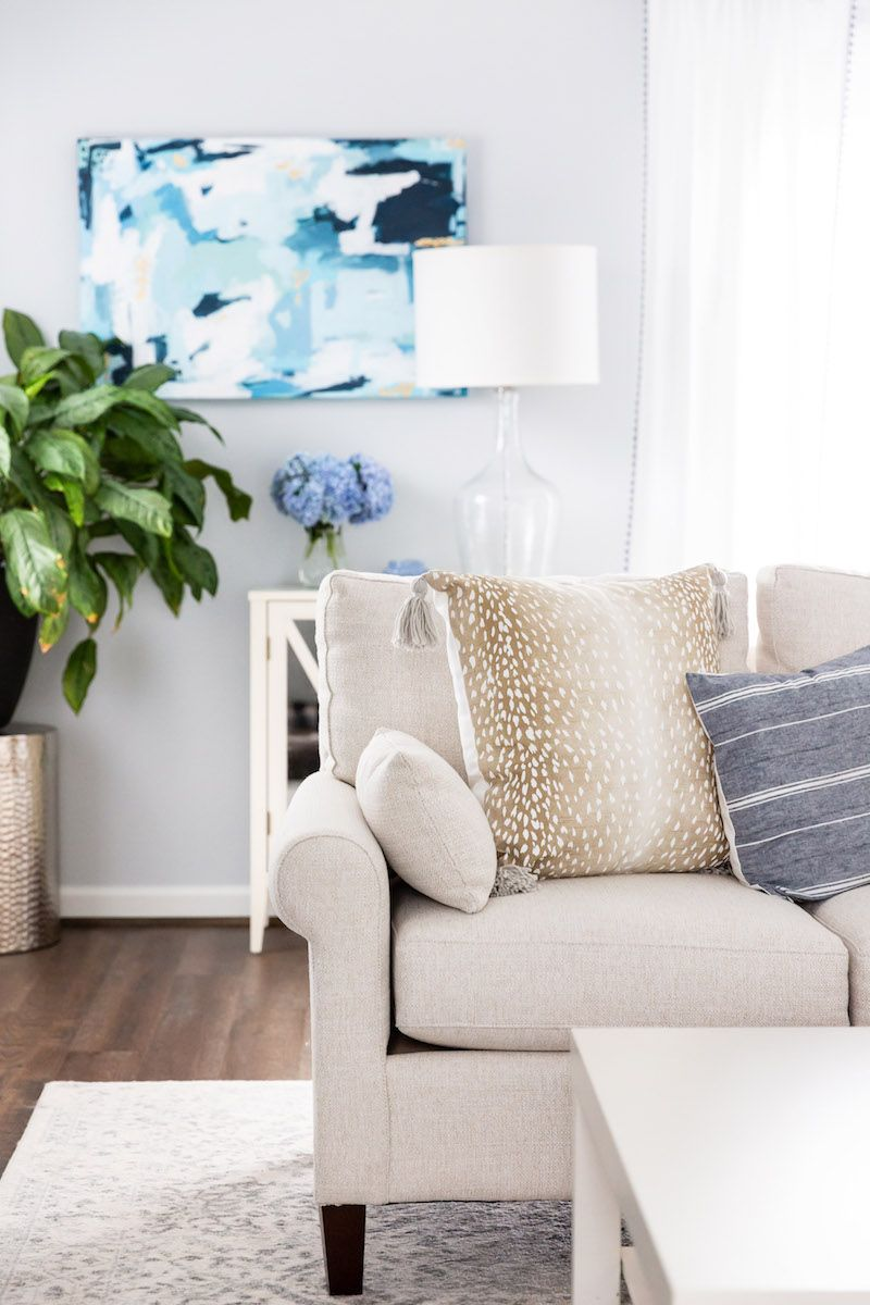 Our Living Room Transformation with Bassett Furniture   Home ...