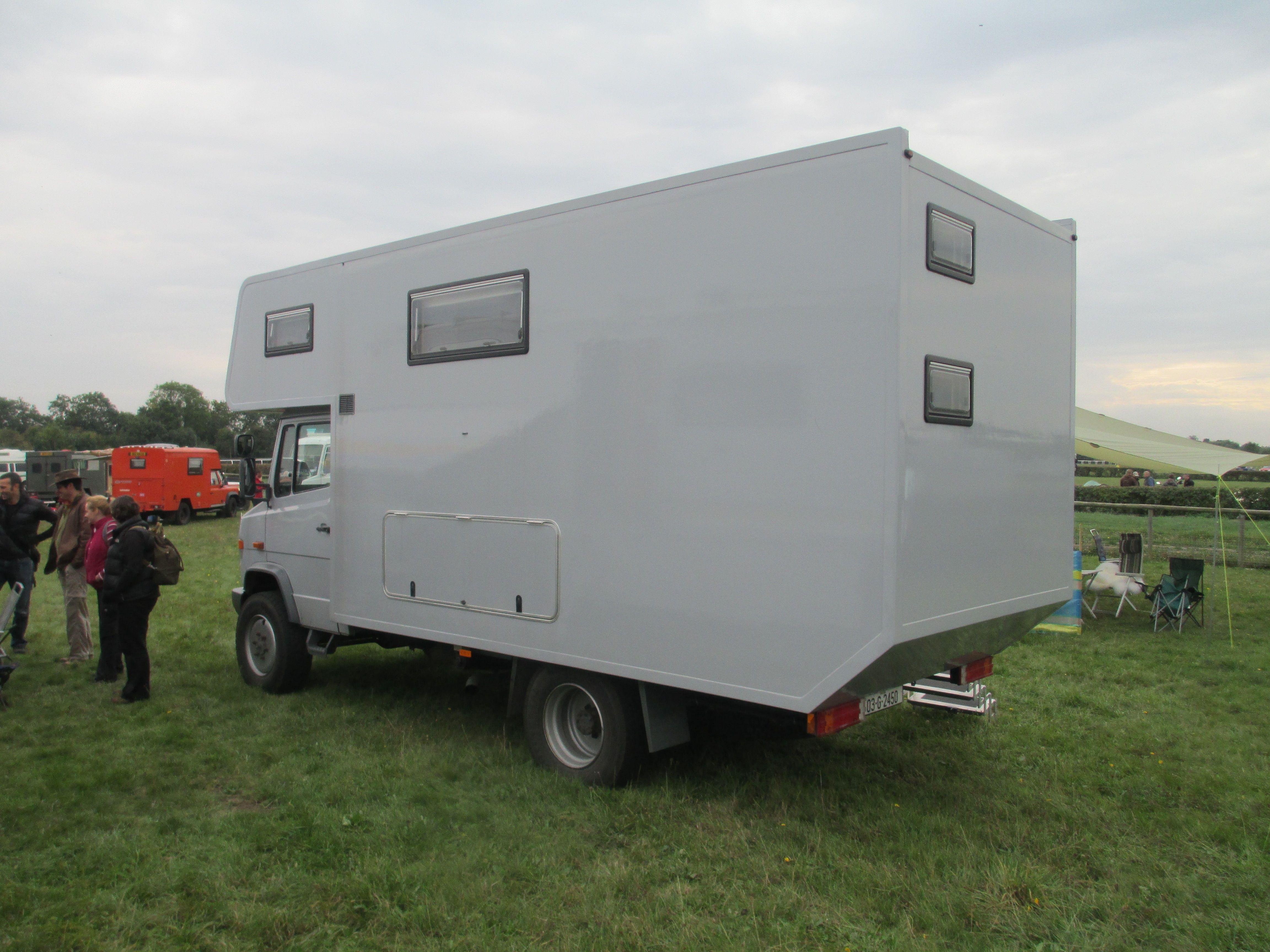 4x4 7.5T GVW Vario Mercedes Adventure Camper http://www ...