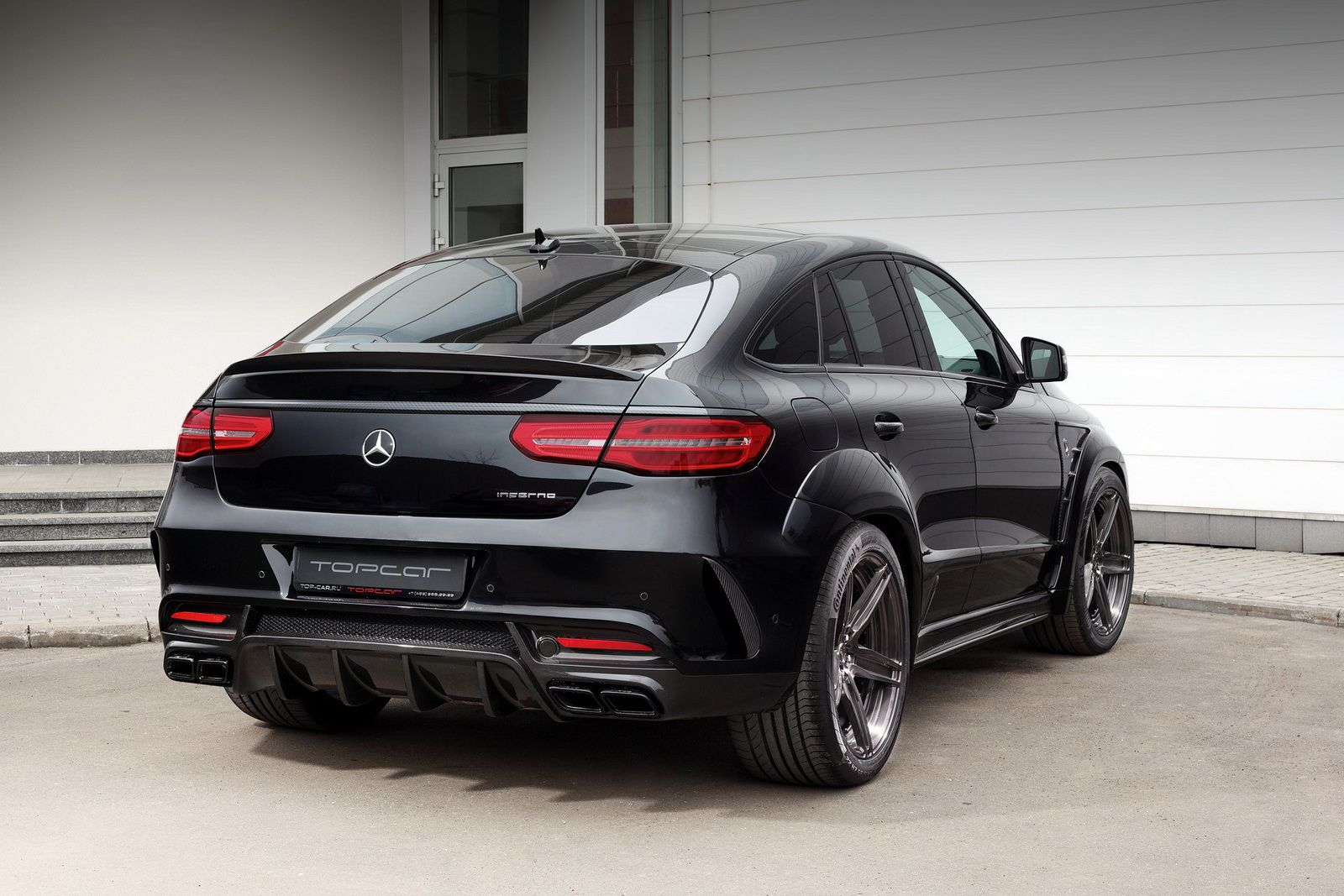 Russian tuner topcar has unveiled a new upgrade package for New mercedes benz model