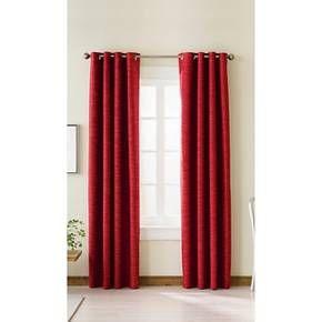 Threshold Uptown Striped Light Blocking Curtain Panel