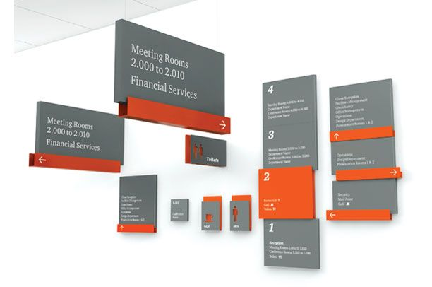Wayfinding Research Best Signage Design Signage And