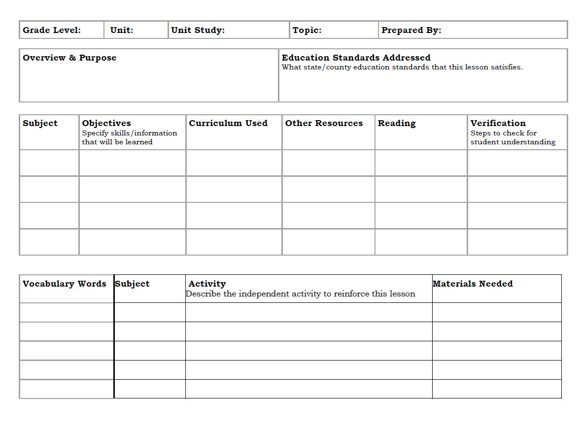 Study Planner Template Study Schedule Template 10 Free In Blank Revision Timeta Homeschool Lesson Plans Template Study Guide Template Lesson Plan Templates Study guide template microsoft word