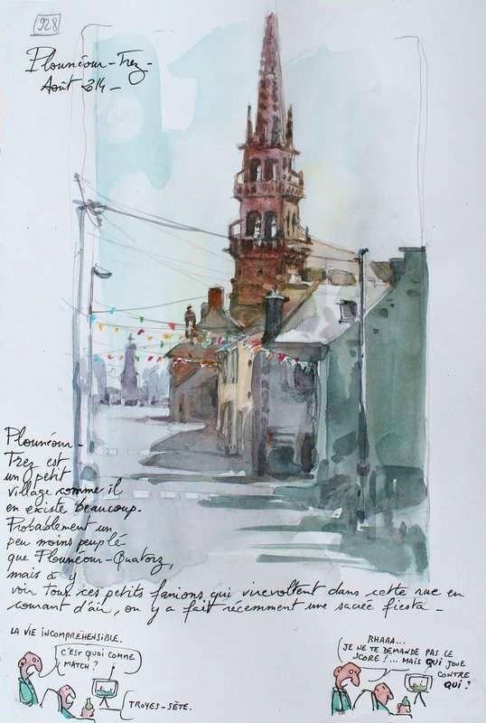 Une Bretagne par les Contours / Plounéour-Trez 01/10/2014