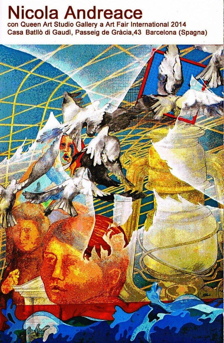Due opere del maestro Nicola Andreace ad  Art Fair...