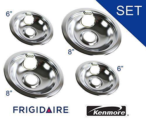 316048413 And 316048414 Oem Frigidaire Kenmore Brand Drip Pan Set