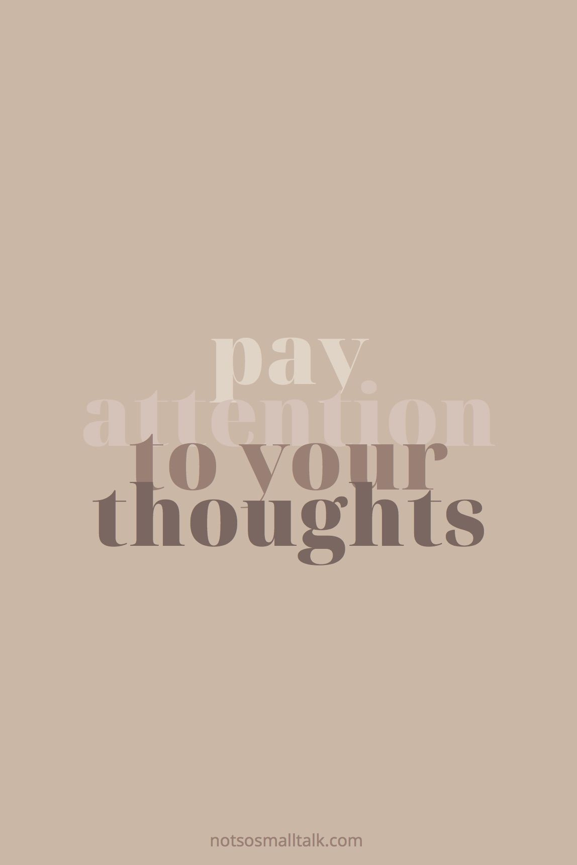 Take Care of Your Thought Life