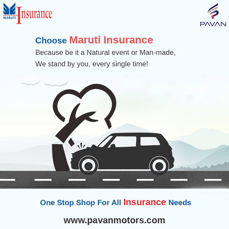 One stop shop for all Insurance needs  #MarutiInsurance