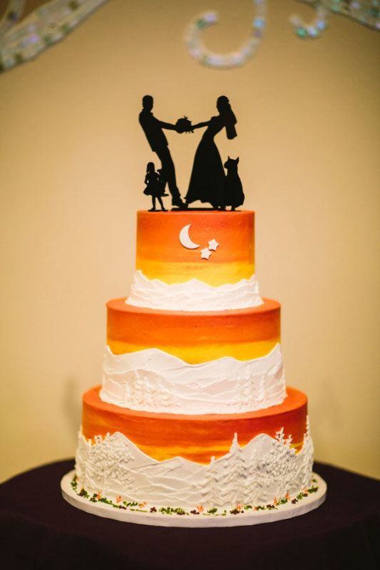 ombre wedding cake | fishing | Pinterest | Wedding cake, Cake and ...