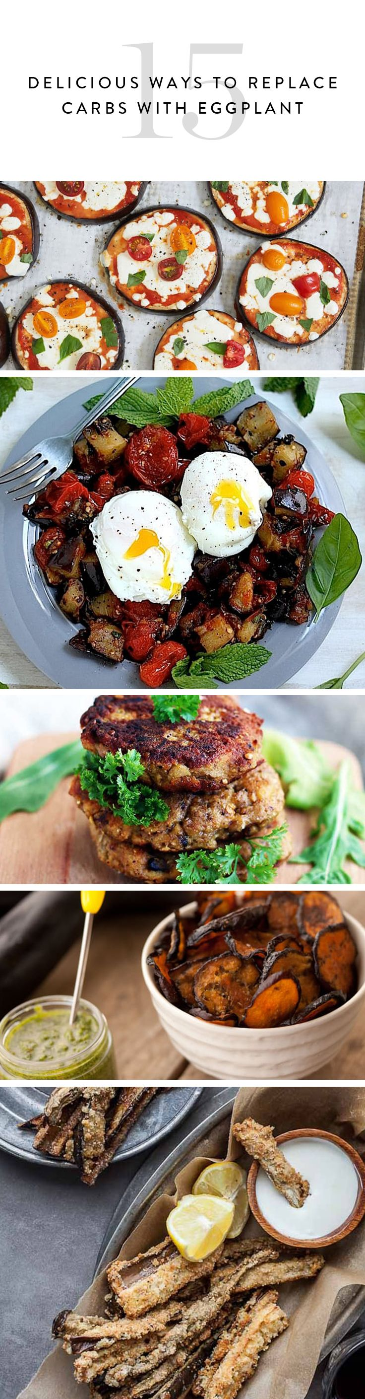 15 Delicious Ways to Replace Carbs with Eggplant