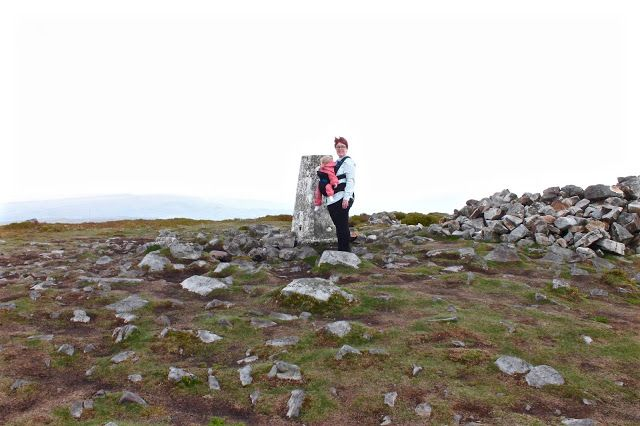 Baby Wearing In The Welsh Mountains Pao Papoose Review