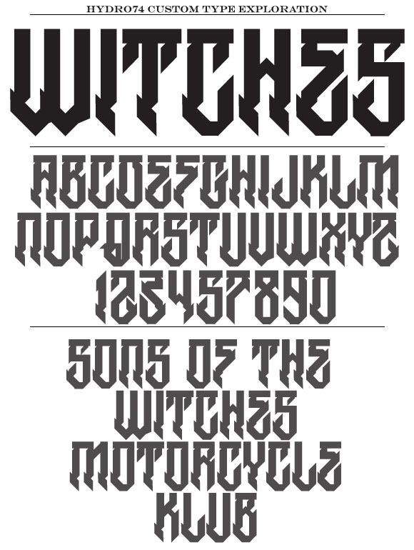 Hydro74 fonts download