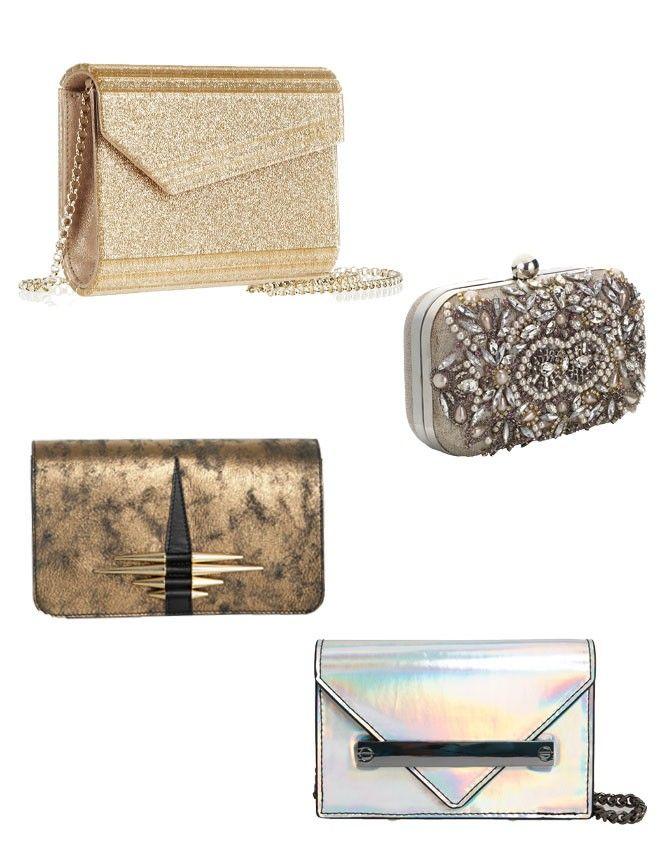 El bolso de mano o clutch, el complemento perfecto de fiesta
