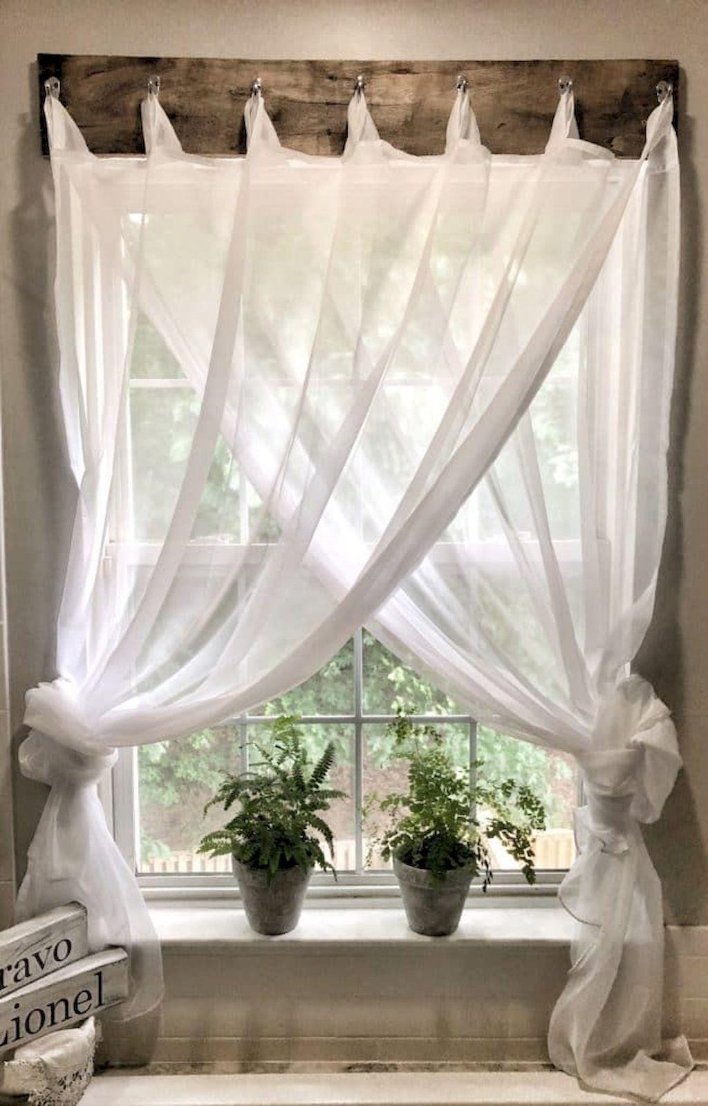 85 Best Modern Farmhouse Living Room Curtains Decor Ideas #livingroomideas