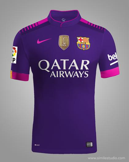 835e1a69208 F.C. Barcelona 2016 2017 Rumores (Concept Kit) on Behance