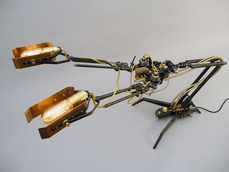 Frank Buchwald custom-made lamp