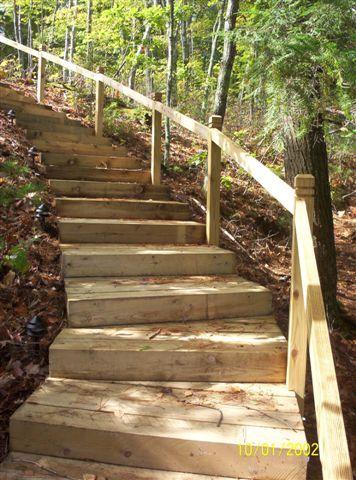 Best Outdoor Rooms Steps Garden Stairs Sloped Garden 400 x 300