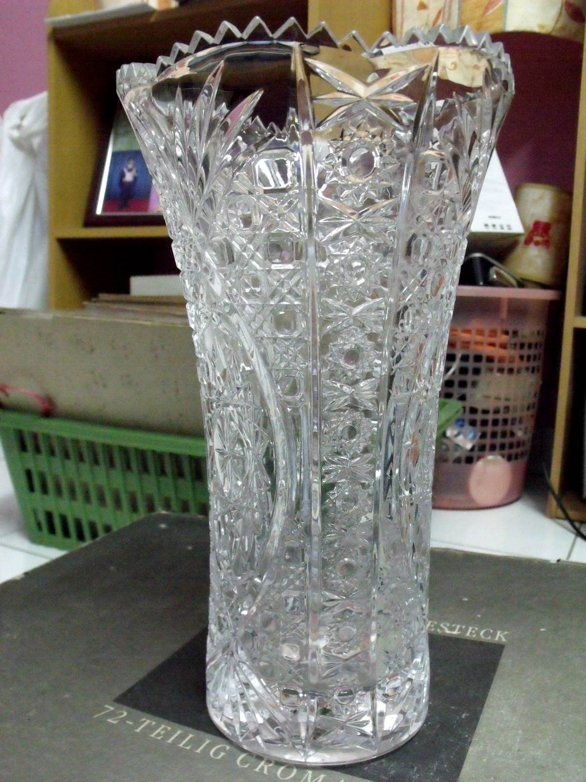 Image Detail For Solid Crystal Vase 171 Antiques And