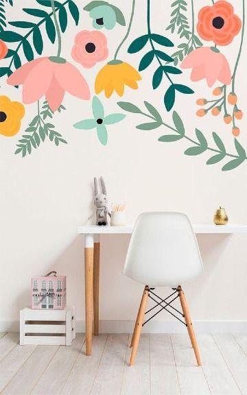 Paredes pintadas con diseños en tendencia 2019