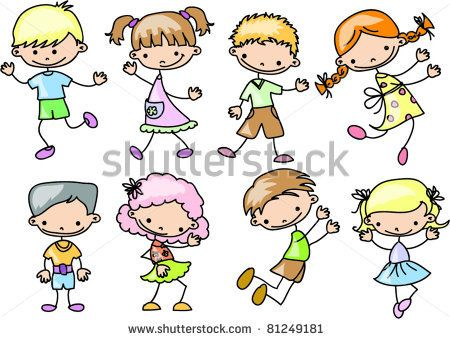 cartoon kids - Cartoon Pictures Of Kids
