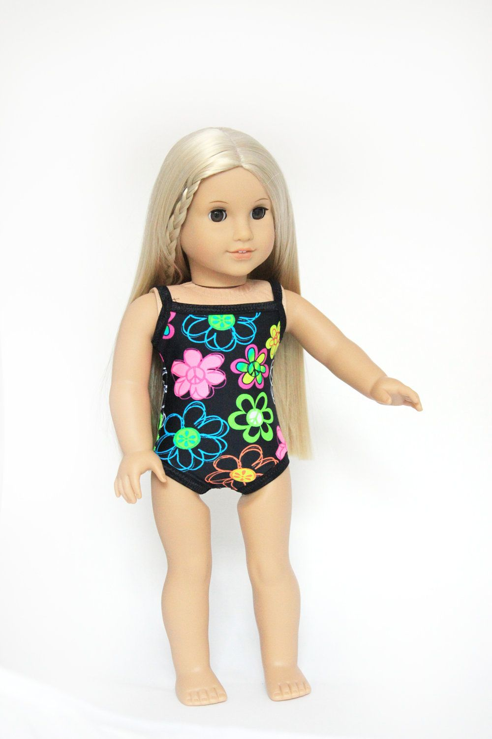 American Girl Doll Clothes - Swim Suit. via Etsy. | Ryleigh\'s Pins ...