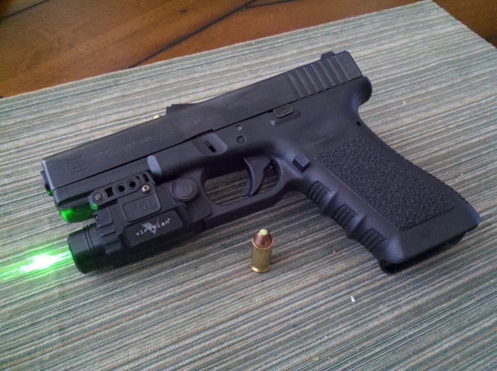 glock 17 viridian green laser - Google Search   Glock   Pinterest