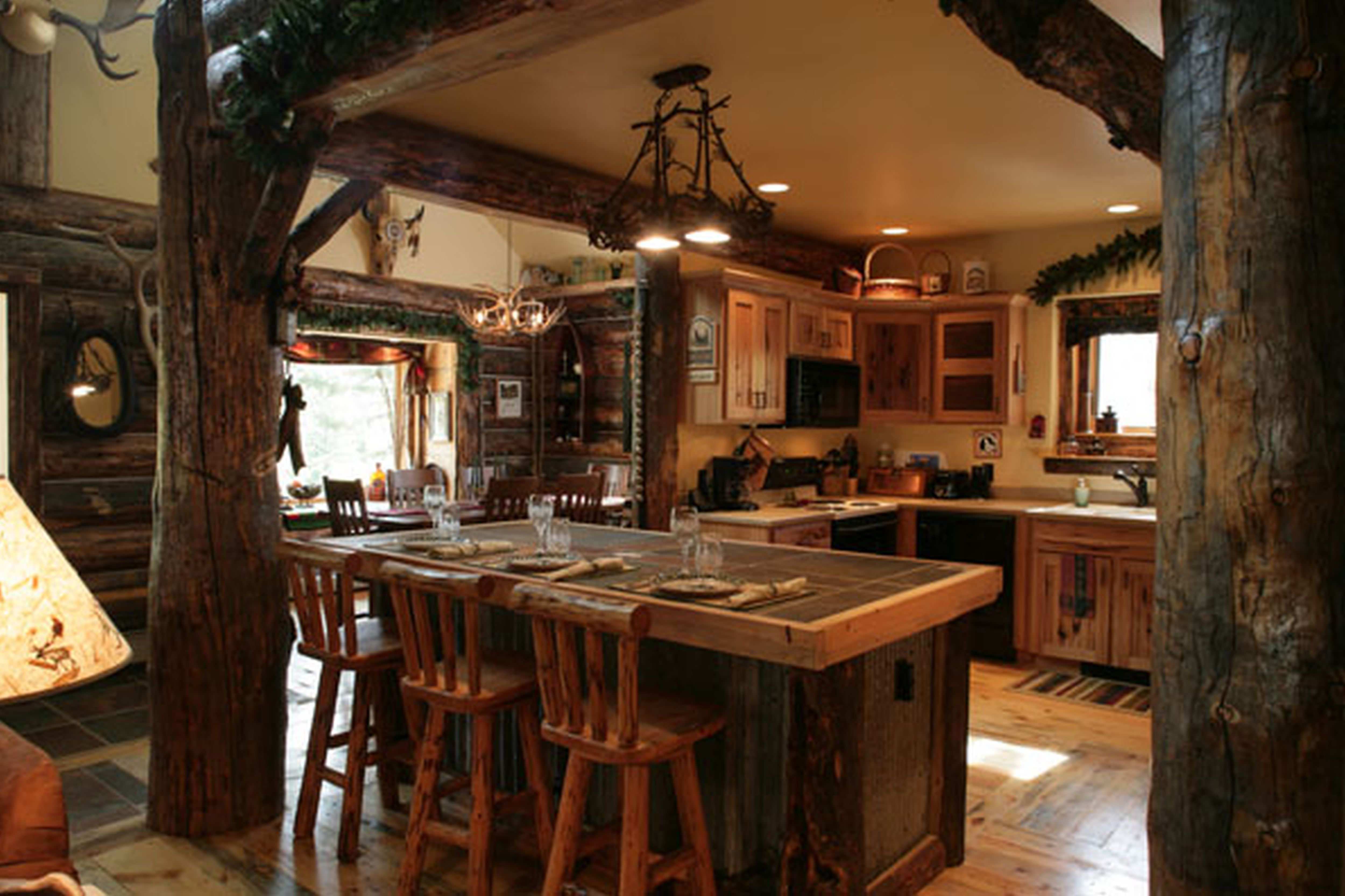 country interior design - 1000+ images about Log Home Ideas on Pinterest Log home kitchens ...